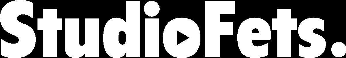 StudioFets logo white