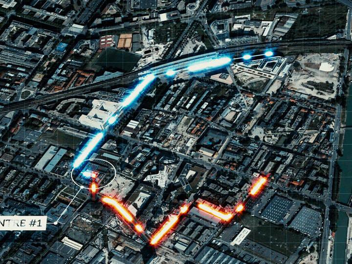 Interxion Ciena connection map